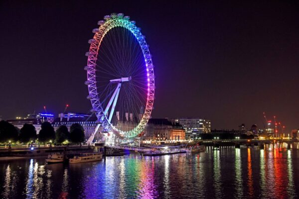 10 Best Attractions in London - London Eye is Where to Get Bird's-Eye View of The London City