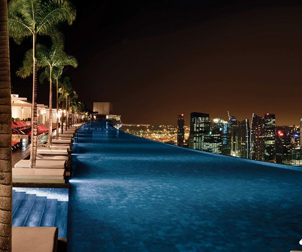 10 Most Stunning Pools Around the World - Marina Bay Sands is in Singapore