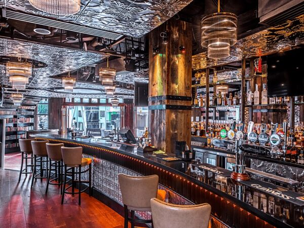 Pubs in Asia - McGettigan's CQ is Located at Clarke Quay With Mesmerizing Design