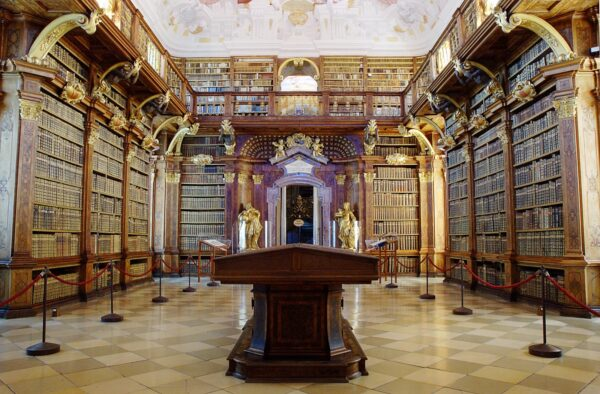 Most Beautiful Libraries in The World - Melk Abbey is a Major Place in Manuscript Production