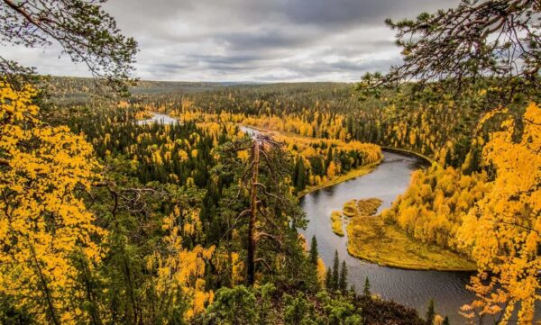 Most Beautiful National Parks in Europe - Oulanka National Park is Located in Finland