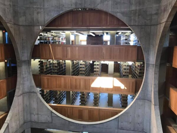 Cultural Travel - Phillips Exeter Academy Library is Designed by Louis Kahn