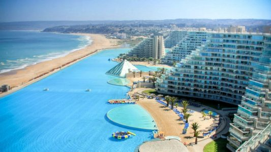 10 Most Stunning Pools Around the World - San Alfonso del Mar is Located in Chile