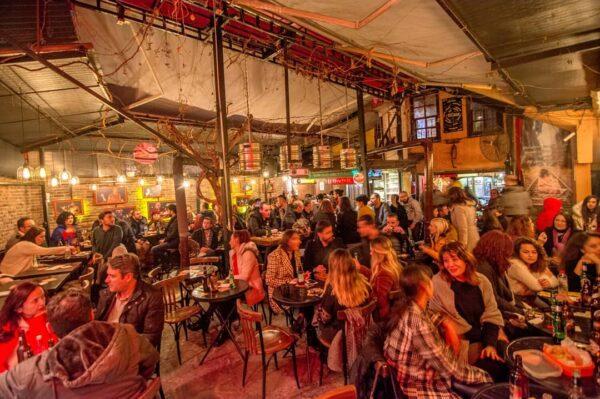 Antalya Nightlife - Simurg Cafe & Bar is Located At Selçuk, Tabakhane Sk