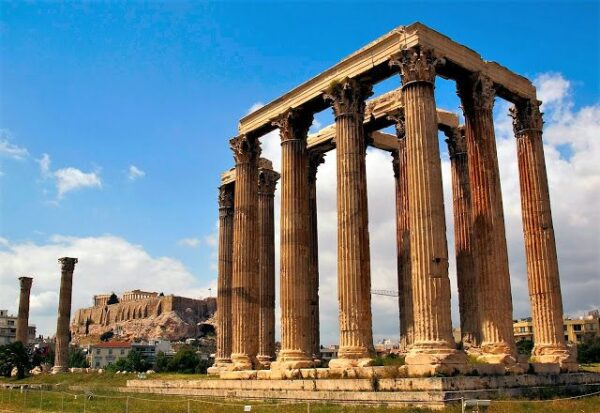 Best Attractions in Athens - Temple of Olympian Zeus Used to be the Largest Temple in Greece
