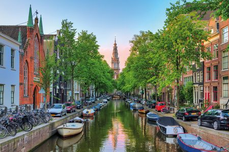 Places to Visit in Amsterdam - The Canal Belt is The UNESCO World Heritage Site