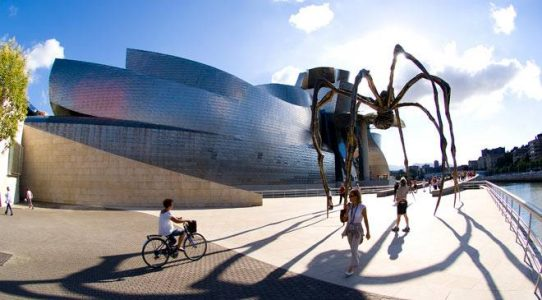 6 Best Attractions in Spain - The Guggenheim is Designed By Frank Gehry