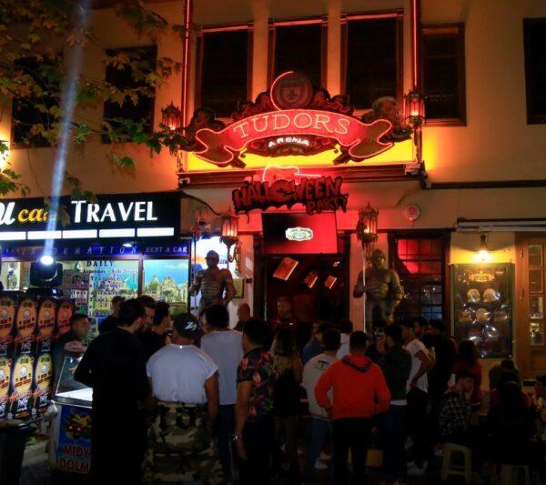 Best Bars in Antalya - The Tudors Arena is Nearby Selçuk in Balıkpazarı Sk