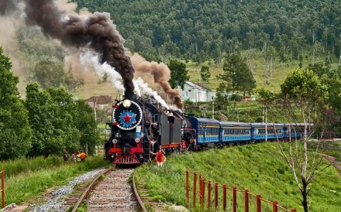 Adventure Travel - Trans-Siberian Railway (Russia) Passes From Ural Mountains And Siberian Forests