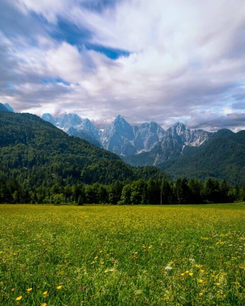 Most Beautiful National Parks in Europe - Triglav National Park is Located in Slovenia Near Lake Bohinj