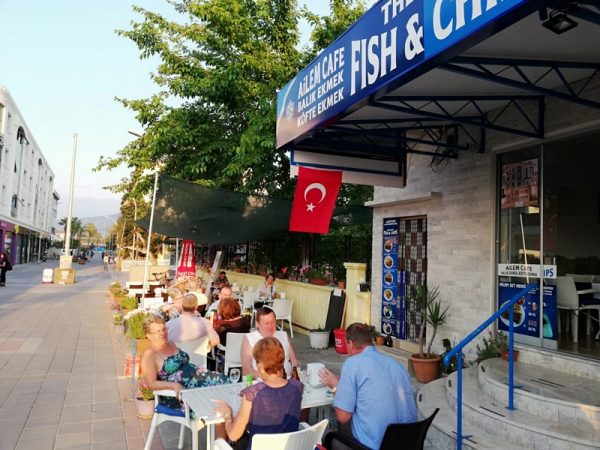 Travel Guide Turkey - Ailem Cafe Restaurant Offers Seafood And Has Affordable Prices