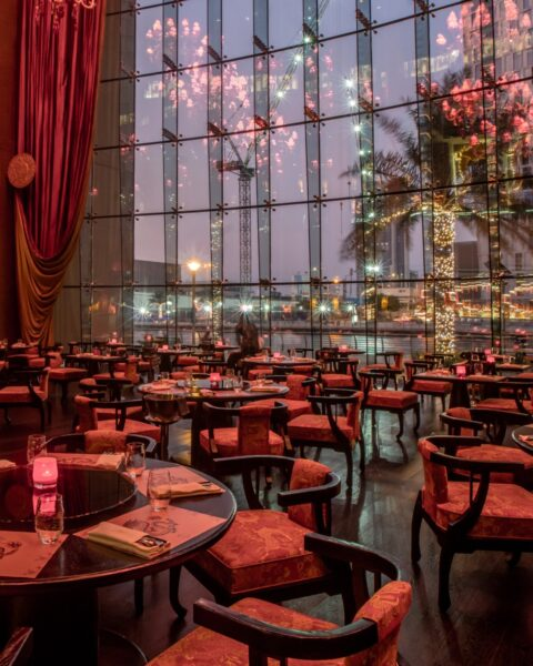 Best Bars in Dubai - Buddha Bar is Located At The Top Floor of Grosvenor House