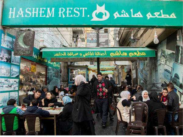 Jordan Travel Tips - Hashem Restaurant Down Town is The Most Place in Town