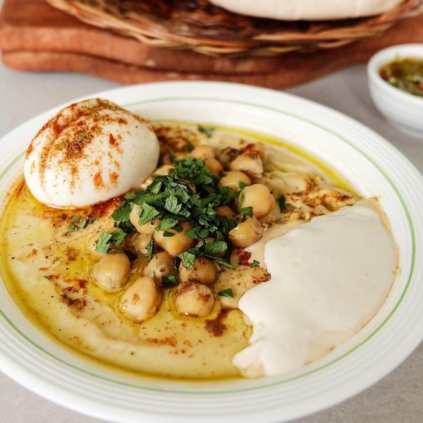 Top Cheap Places to Eat in Manila - Hummus Elijah Have Big Portions Ang Good For Two
