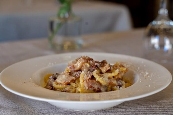 Top 5 Pasta Restaurants in Rome - La Tavernaccia Offer Wood-Fired Lasagna