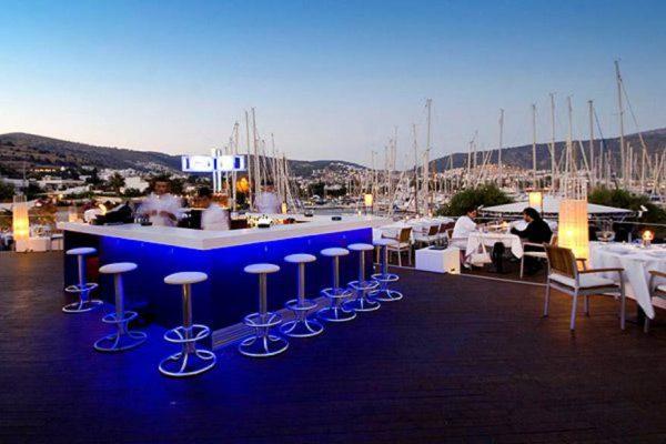 Marina Yacht Club Bars from Bodrum