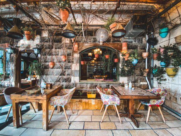 Food in Amman - Rakwet Arab Cafe in The Cozy Jabal al-Weibdeh District
