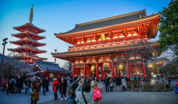 Travel Guide Japan - Tour in Senso-ji Temple For Understanding Buddhist Culture