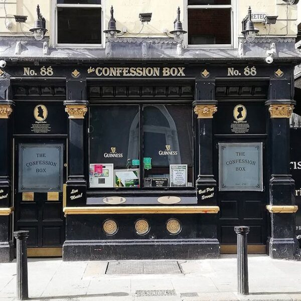 Cheap Bars Dublin - The Confession Box is Where You Can Grab Quality Drinks
