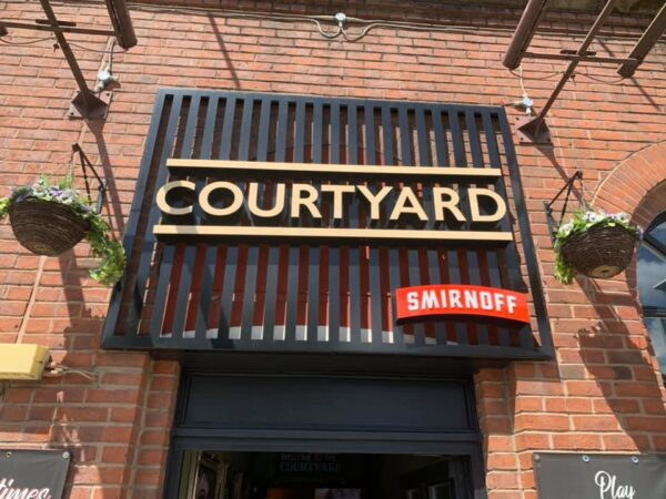 Guide to Manchester Bars - The Courtyard at Chester Street For University Students