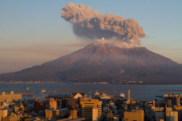 5 most famous volcanoes in Japan