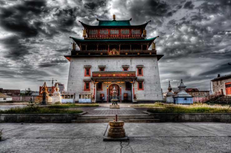 Buddhist monasteries in Mongolia