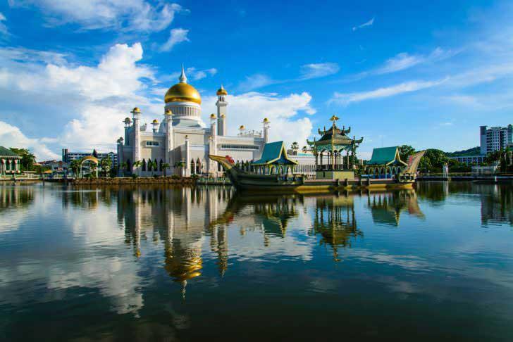 Top Asia Countries to Visit - Brunei Has Full Name of Brunei Darussalam With Capital of Bandar Seri Begawan