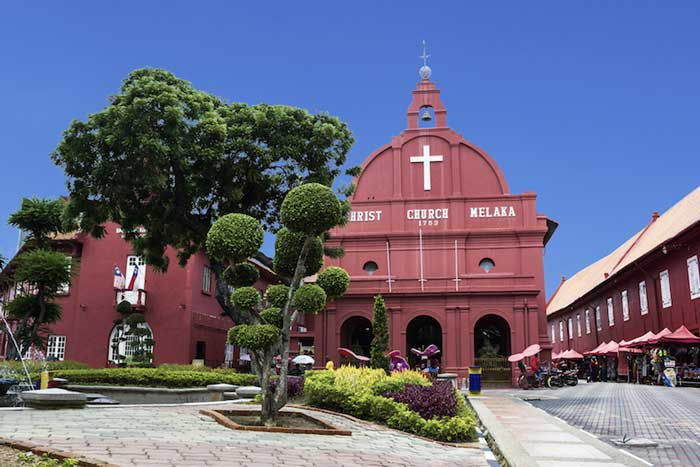 Views of Malacca Malaysia, Chris Church - christ_church