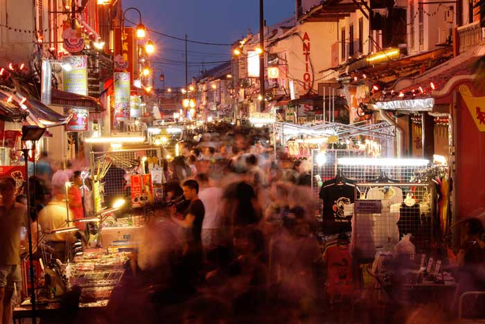 Jonker Street is in The Center of Chinatown in The City - Travel Guide Malaysia