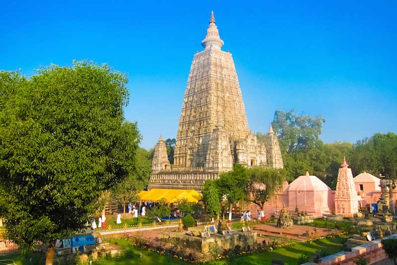 Hindu temples, List of Indian temples, mahabodhi_temple