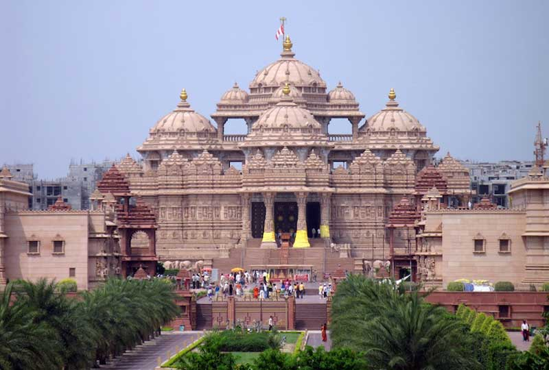 Hindu temples, List of Indian temples, akshardham_temple