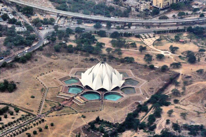 Hindu temples, list of temples in India, lotus_temple