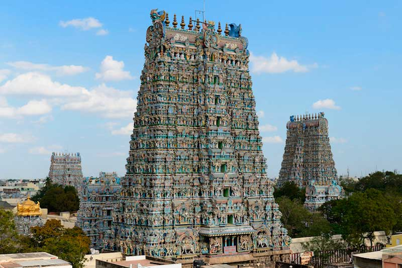 Hindu temples, List of temples in India, meenakshi_amman_temple