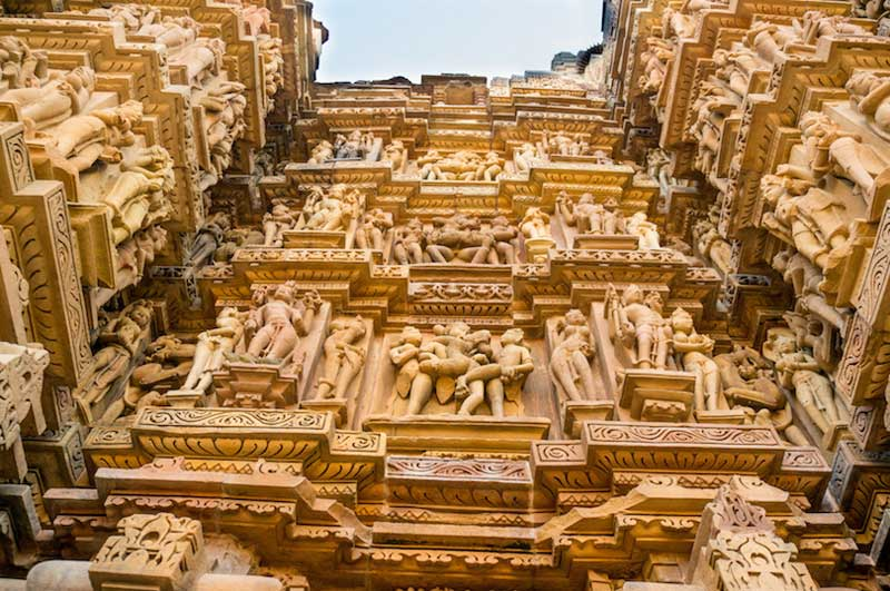 Hindu temples, List of temples in India, khajuraho