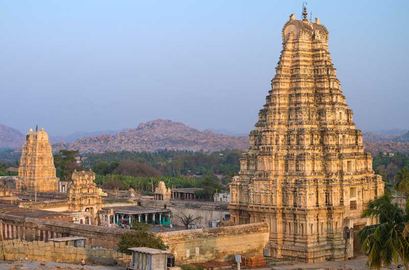Hindu temples, List of temples in India, virupaksha_temple