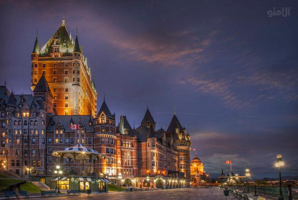 Low-budget travel, Quebec City in the East of Canada-Quebec-City-Canada