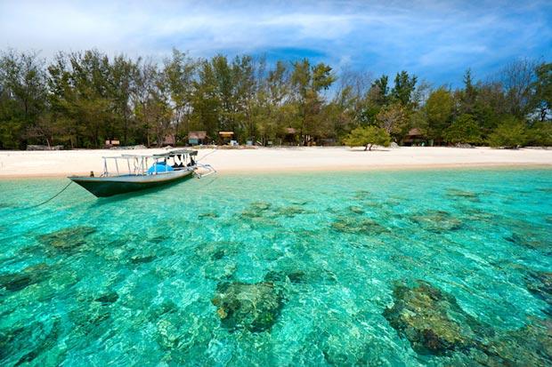 The most beautiful beaches of Indonesia, Gili Island