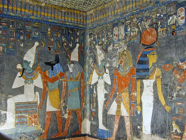 Top Tourist Attractions in Egypt - Valley of the Kings is Located Near Luxor