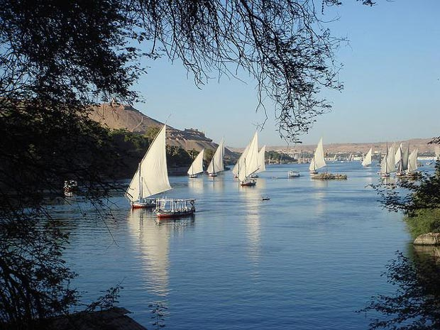 Nile River Connects Luxor to Aswan And is Scenic And Beautiful - Top Tourist Attractions in Egypt