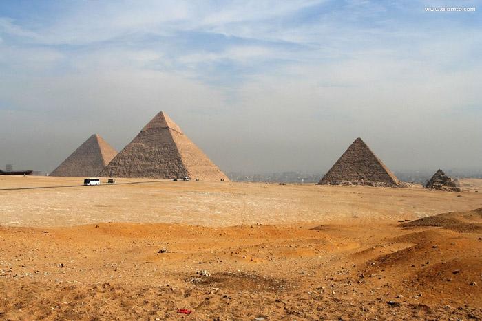 Giza Necropolis - attraction in Egypt