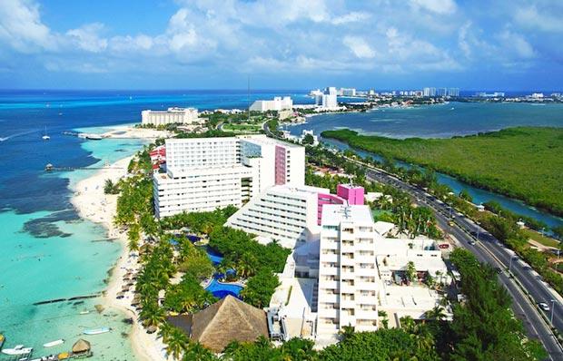 Coastal destination in Mexico