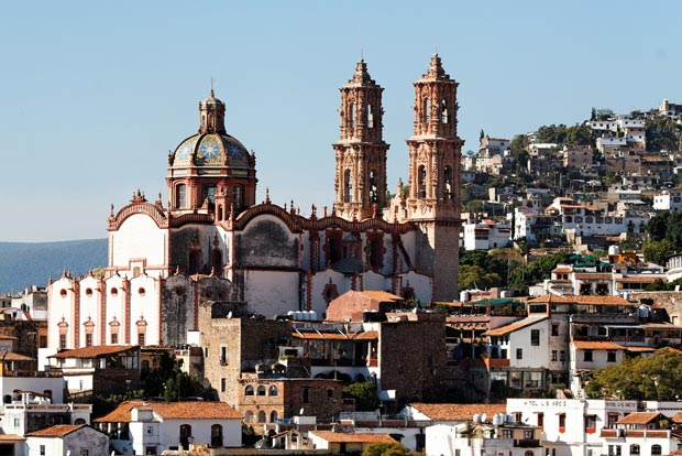 Taxco - tourist attraction in Mexico