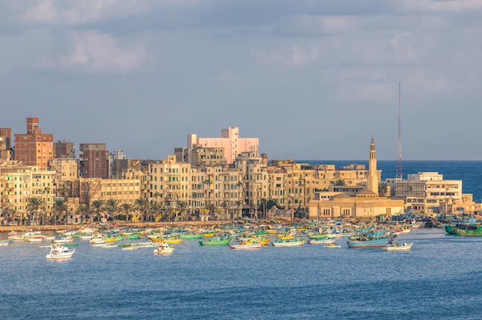 Top 10 Attractions of Ancient Egypt - Alexandria is Located on The Mediterranean Coast