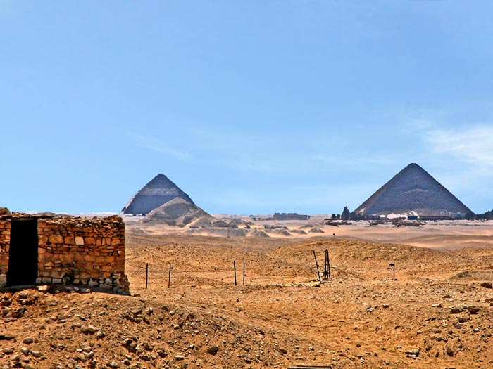 Africa Travel Tips - Dahshur is A Cemetery Located on The West Bank of The Nile