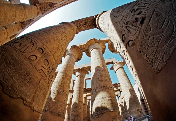 Karnak - beautiful temples in Egypt