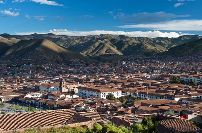Contemporary Cusco - tourist attraction in Peru
