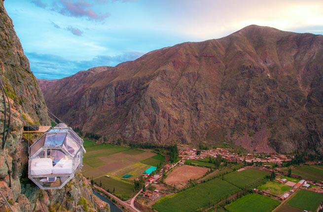 Skylodge Adventure Suite - Peru tourist attraction