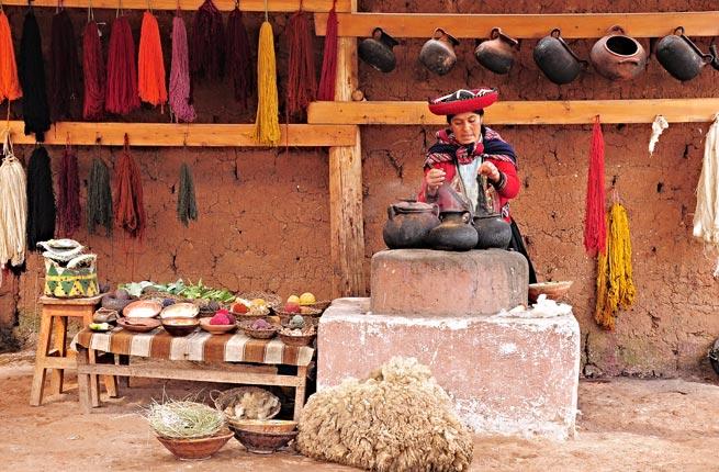 Chinchero - Peru tourist attraction