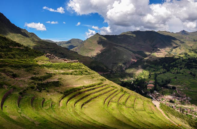 Pisac - Peru tourist attraction