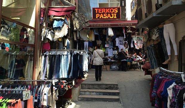 Terkos Pasaji in Taksim area